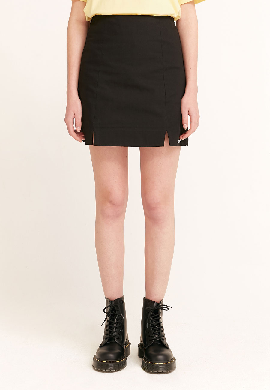 LOGO BANDING SKIRT[BLACK]