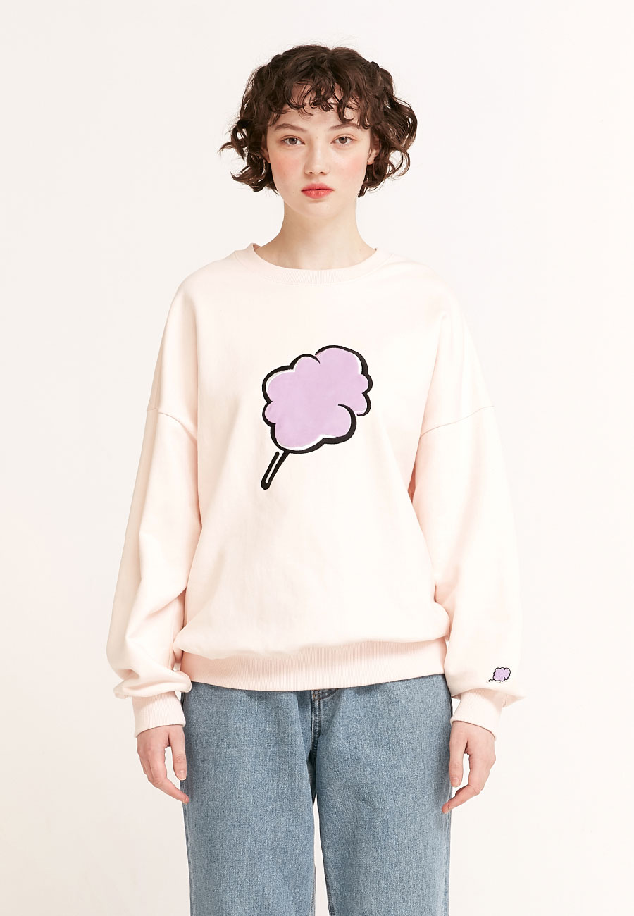 [2/17 예약발송]BIG CC SWEAT-SHIRT[BABY PINK]