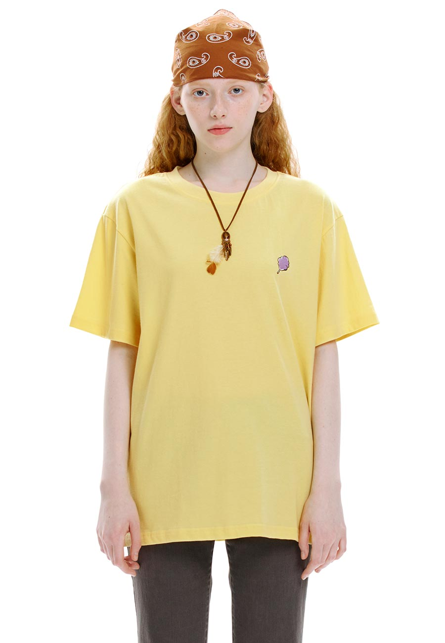 SMALL CC T-SHIRT[YELLOW]