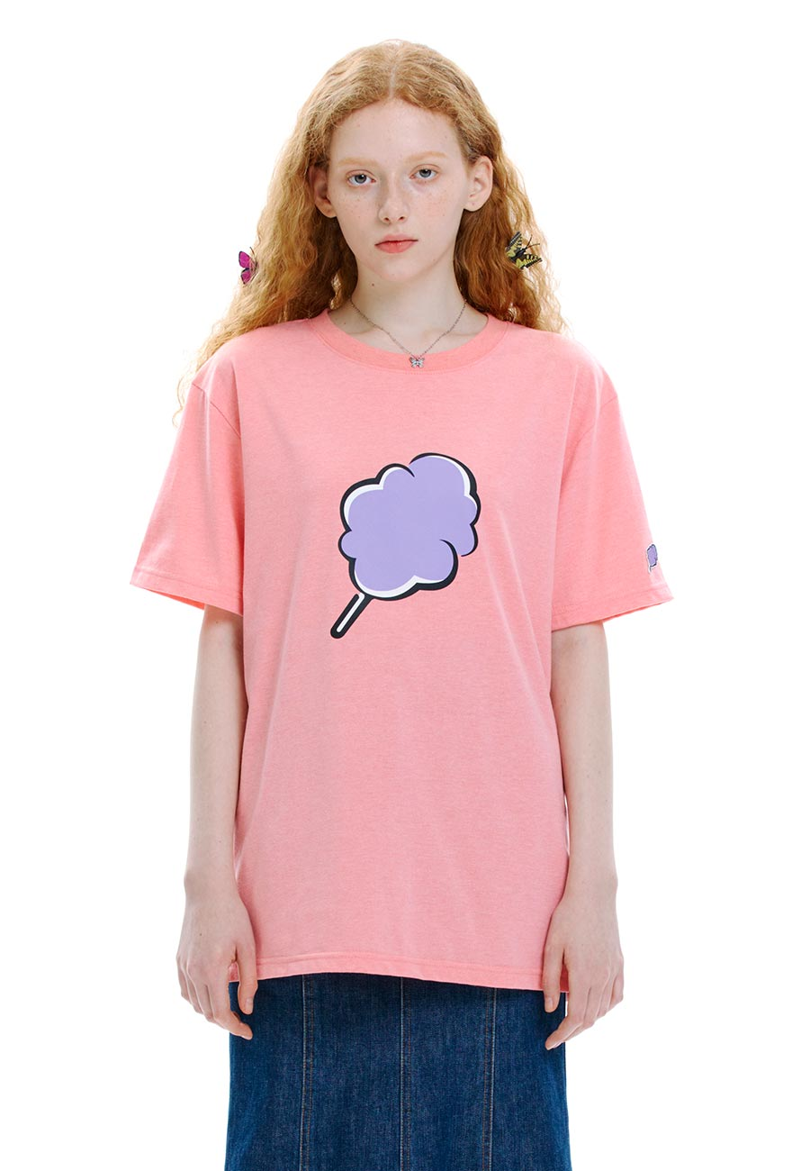 BIG CC T-SHIRT[PINK]