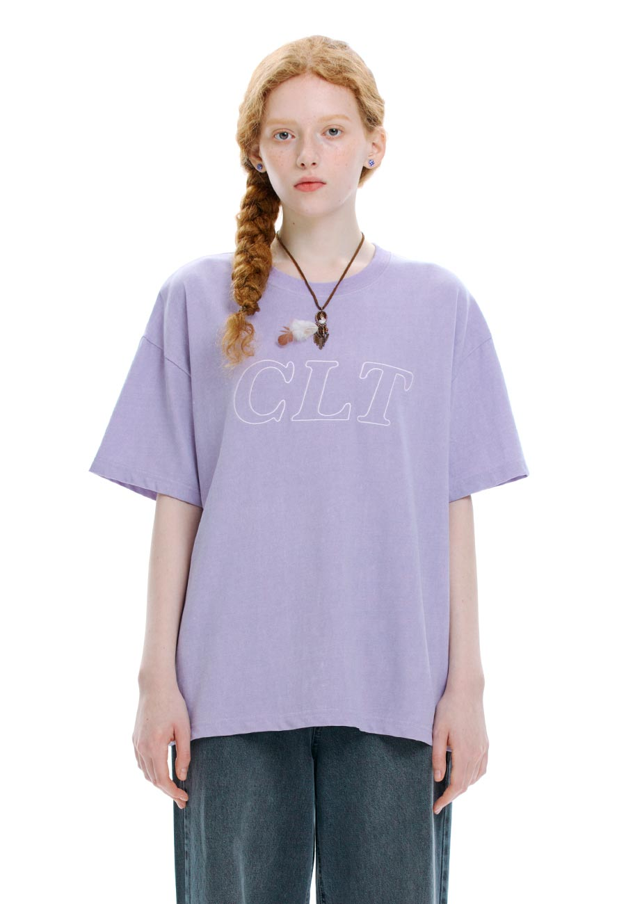 CLT PIGMENT T-SHIRT[PURPLE]