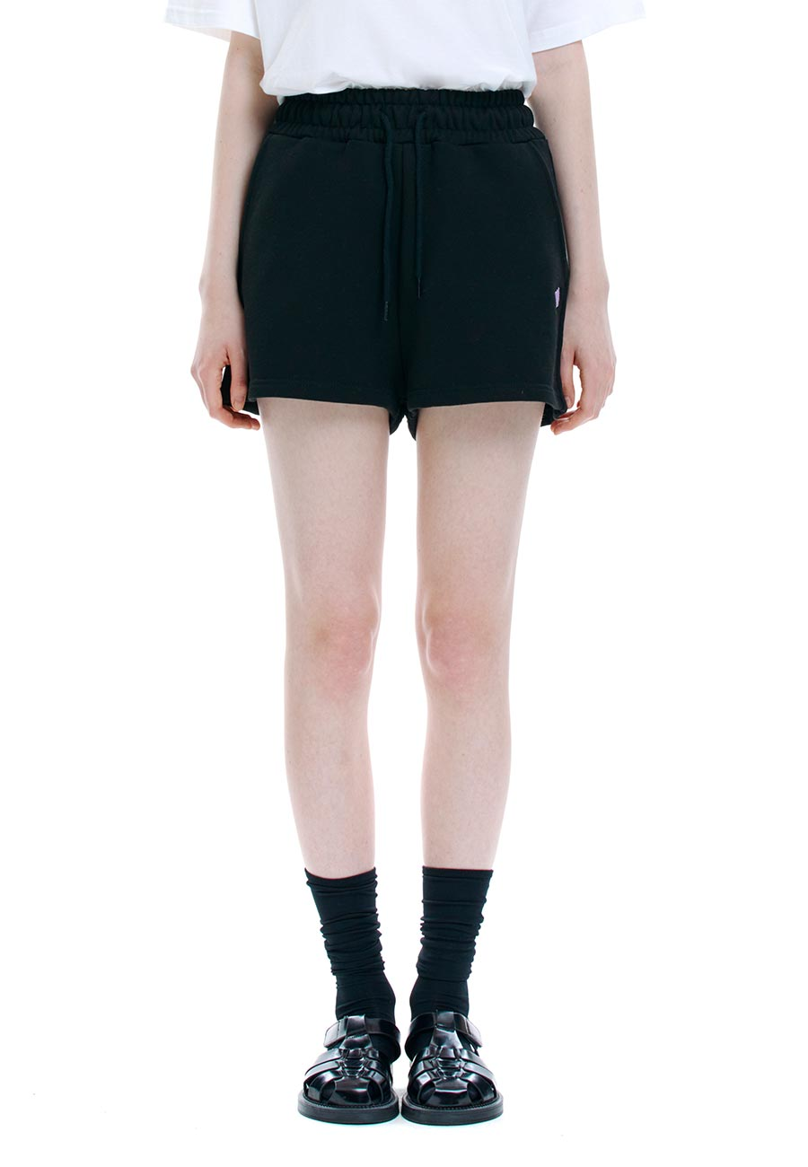 CC SWEAT SHORTS[BLACK]