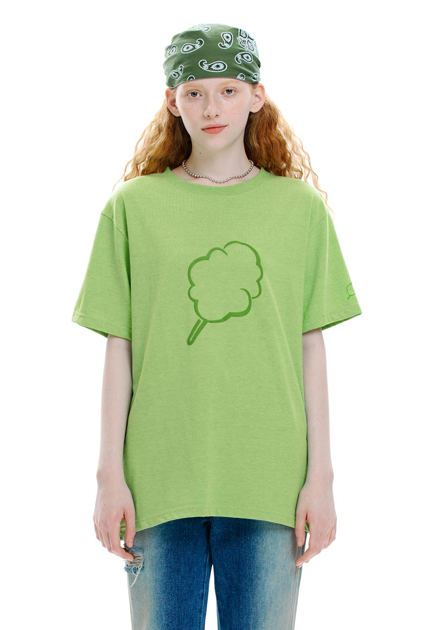 OUTLINE CC T-SHIRT[GREEN]
