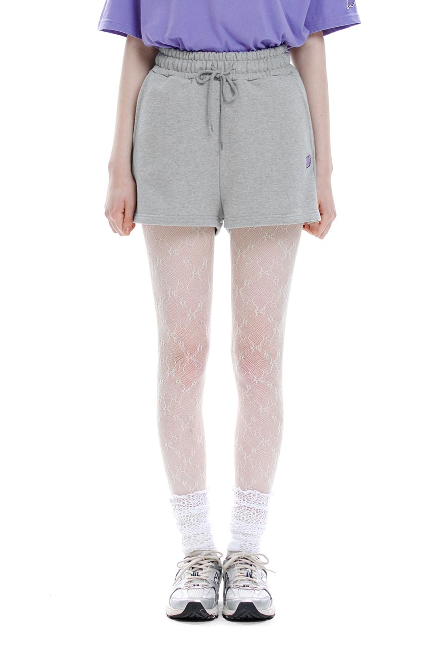 CC SWEAT SHORTS[GREY]