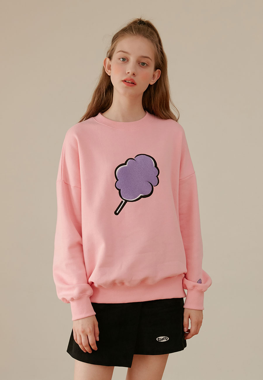 [LAST ORDER]BIG CC SWEAT-SHIRT[PINK]
