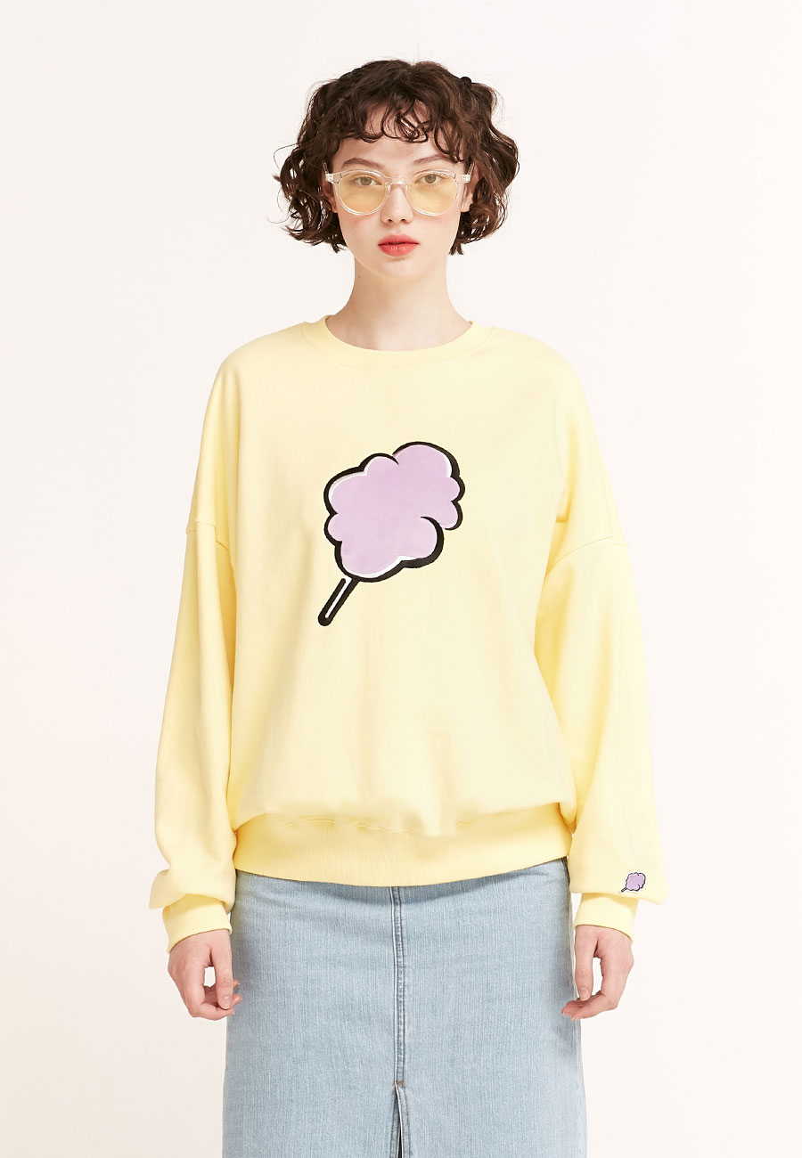 BIG CC SWEAT-SHIRT[YELLOW]