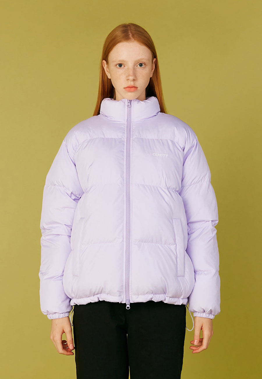 LOGO SOLARBALL SHORT PARKA[PURPLE]