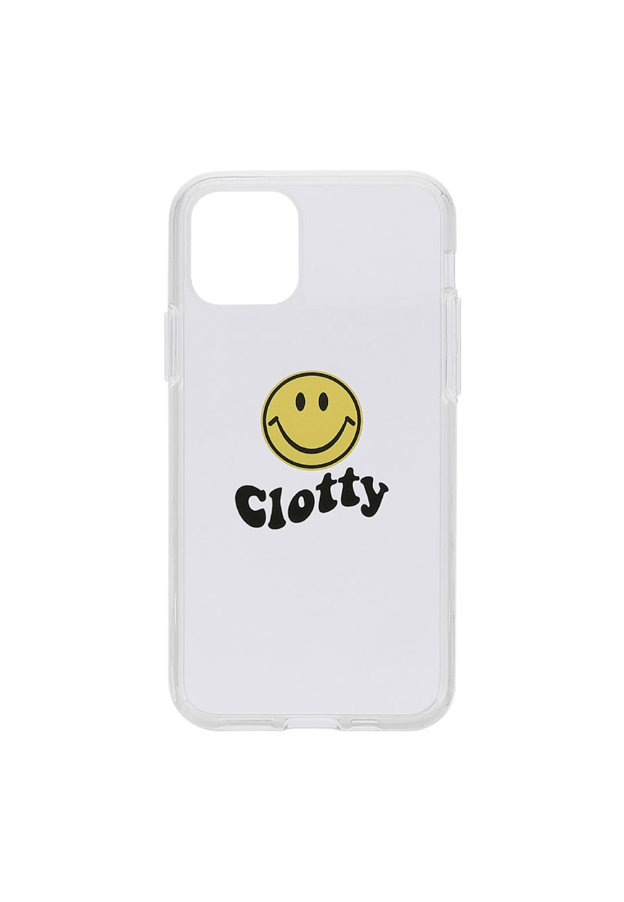 SMILE WAVE  HARD JELLY PHONE CASE[CLEAR]