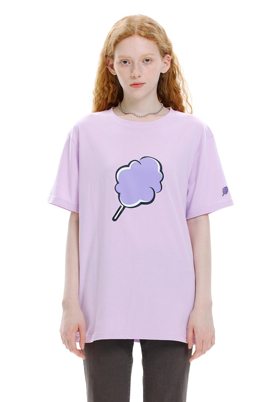 BIG CC T-SHIRT[PURPLE]
