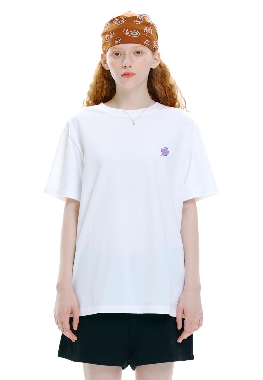 SMALL CC T-SHIRT[WHITE]