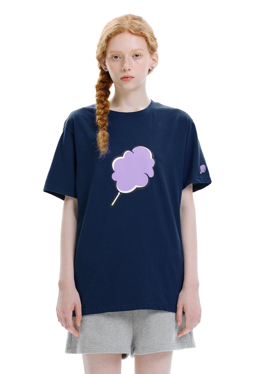 BIG CC T-SHIRT[NAVY]